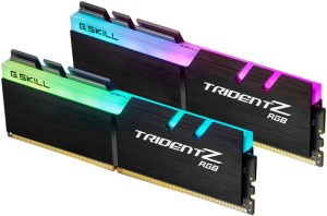 F4-3466C16D-16GTZR - G.Skill Trident Z RGB Kit 2x8GB PC4-27700U DDR4-3466 CL16-18-18-38