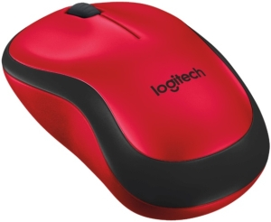 910-004880 - Logitech M220 Silent Wireless Mouse - red